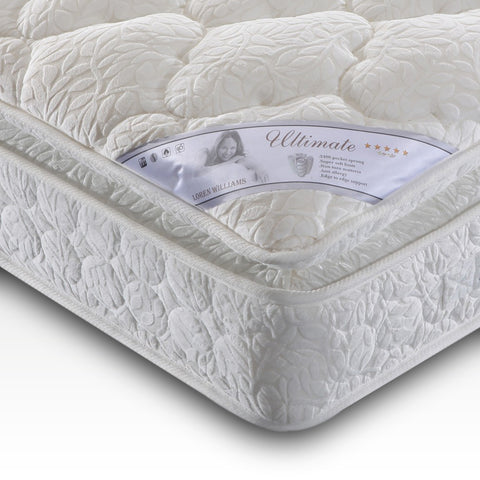 Ultimate 2400 Pocket Pillowtop Mattress (Super King)