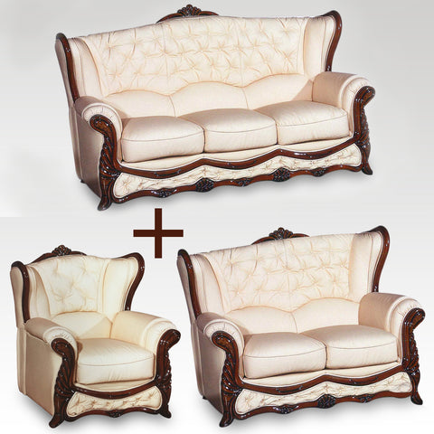 Christina 3, 2 Seater & Chair Set