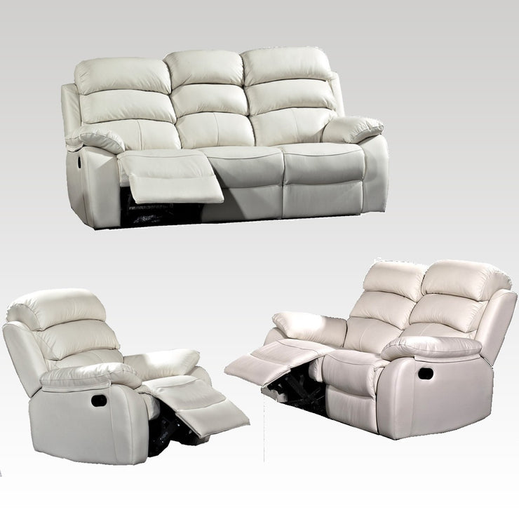 Emma 3 Seater, 2 Seater and Chair Recliner Set