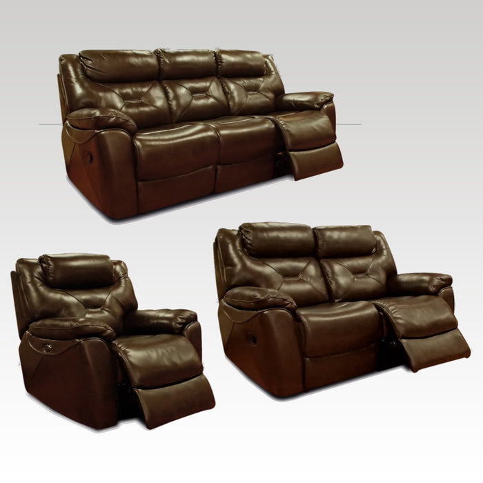 Lydia recliner 3 and 2 seater sofa and chair set