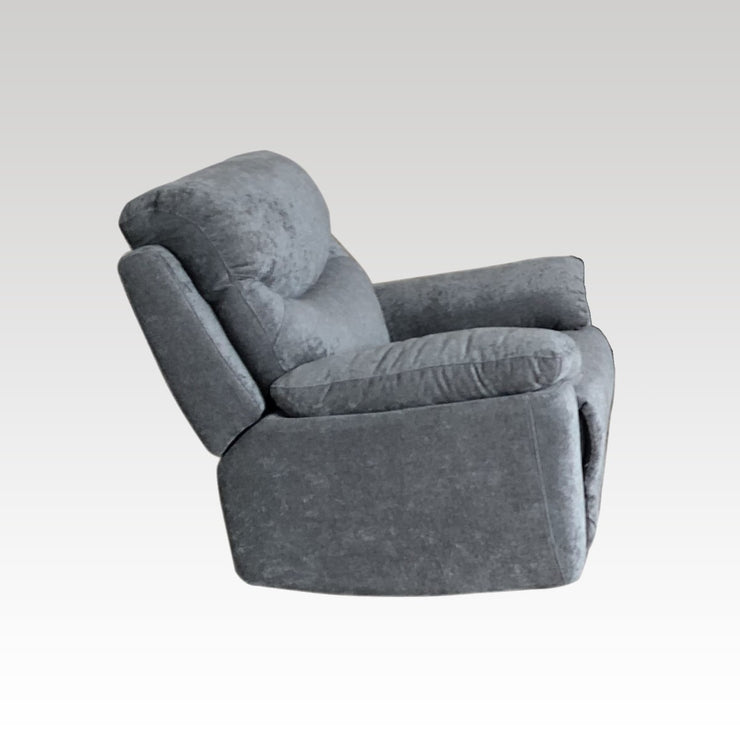 Salisbury Fabric 3 seater sofa and 2 chair Recliner set