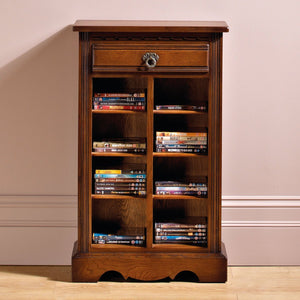 Old Charm DVD/CD Storage Cabinet