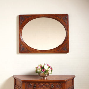 Old Charm Oval Wall Mirror