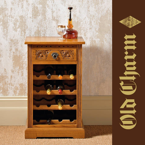 Old Charm Wine Rack