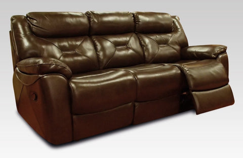 Lydia 3 Seater Recliner Leather Sofa