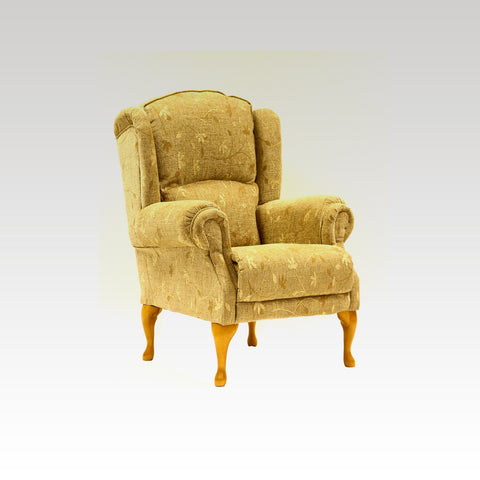 Ellie Standard & Petite Queen Anne Chair