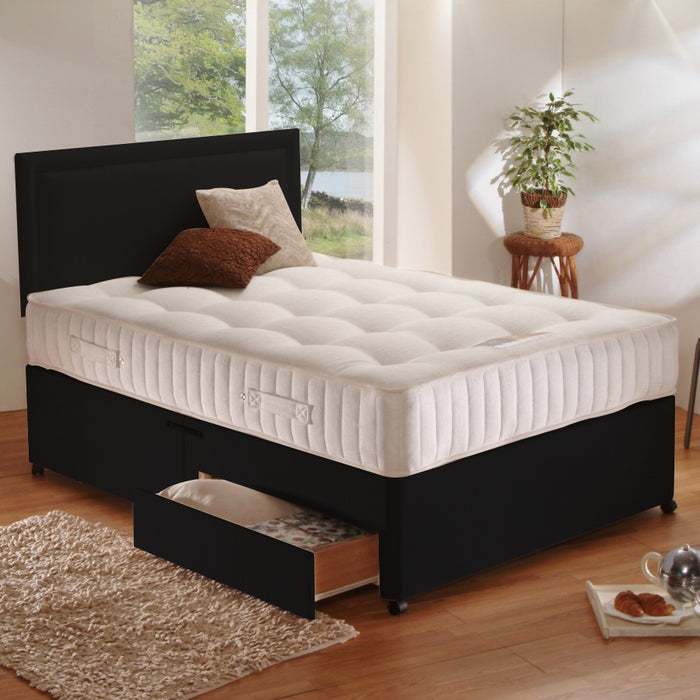 Natural Ortho Pocket 2200 Divan Bed