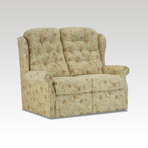 Woburn Standard 2 Seat Fixed Fabric Settee