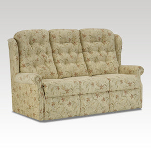 Woburn Standard 3 Seat Fixed Fabric Settee
