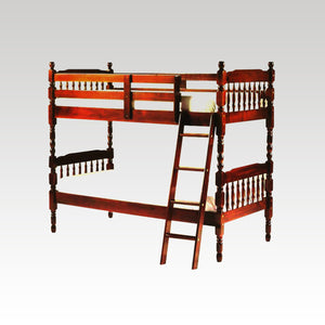 Cherry Pine 3ft Bunk Bed set (mattresses extra)
