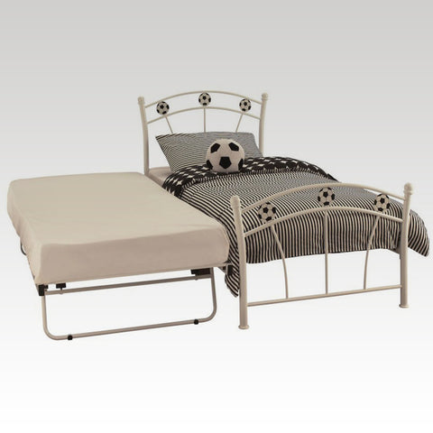 Soccer Guest Bed Frame in White