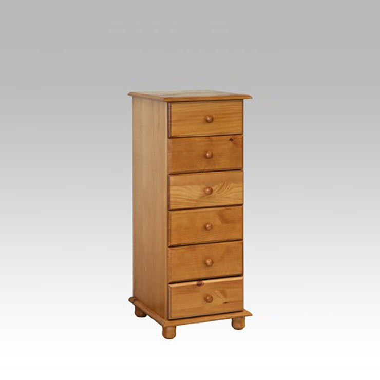 Leona 6 drawer wellington chest