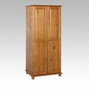 Leona 2 Door all Hanging Wardrobe