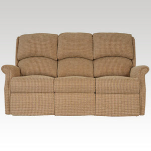 Regent Fixed 3 Seat Fabric Settee