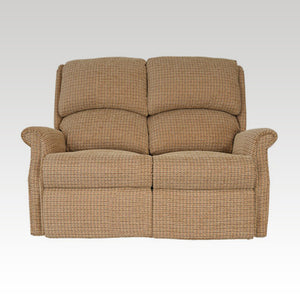 Regent Fixed 2 Seat Fabric Settee