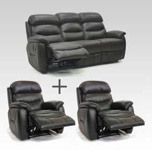 Tina 3 & 2 x Recliner Chair Set