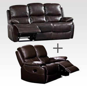 Jamie 3 Seater and 2 Recliner Sofa set