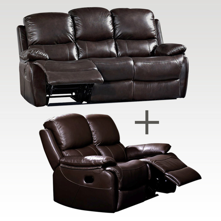 Jamie 3 Seater and 2 Seater Recliner Sofa set