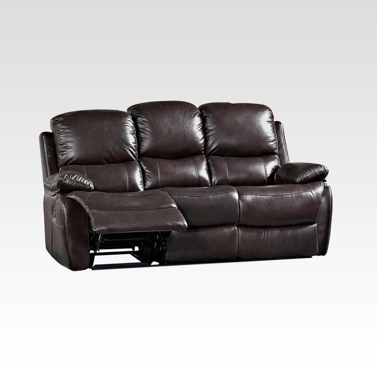 Jamie 3 Seater Recliner Sofa (FREE DROP DOWN TABLE)