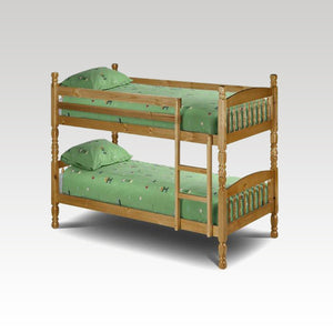Leona 3ft Pine Bunk Bed (mattress options)