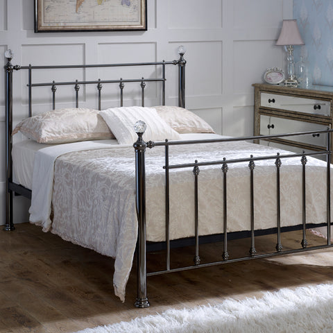 Libra Double Metal Bed Frame
