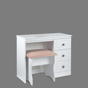 Snow White Small Dressing Table (Excluding stool)