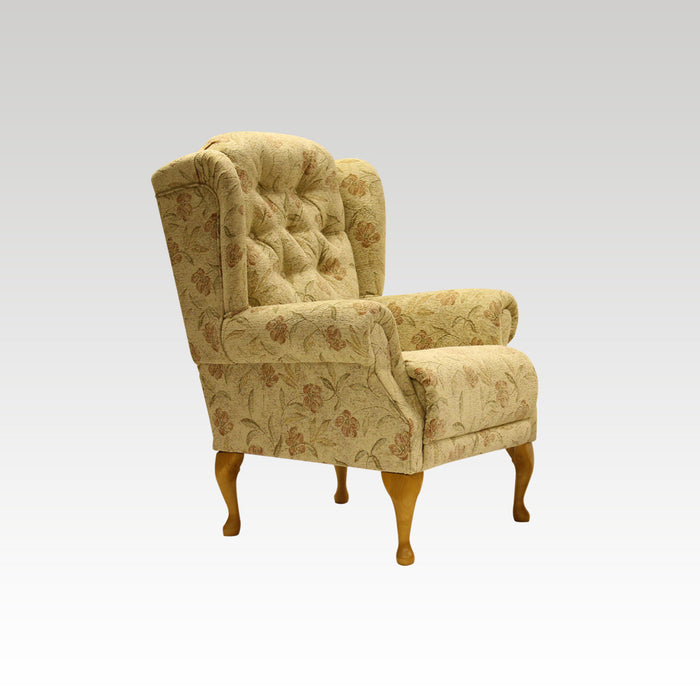 Abbey 'Standard or Petite' Queen Anne Chair