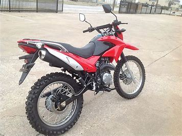 Hawk street legal dirt bike 35in seat hight