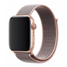 Load image into Gallery viewer, Nylon Apple Watch Strap - (Pink SunTan)