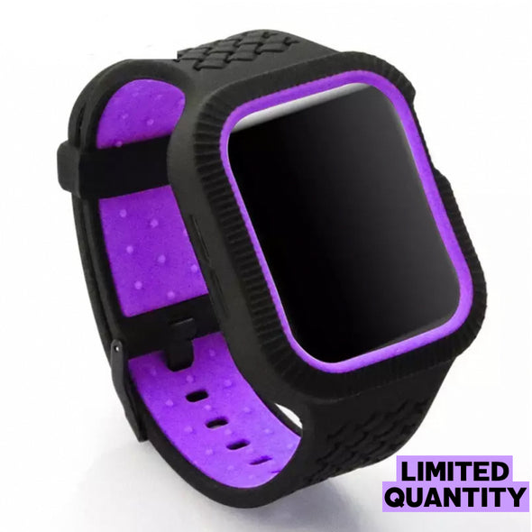Sport Silicone Impact Strap (Purple Moonlight)