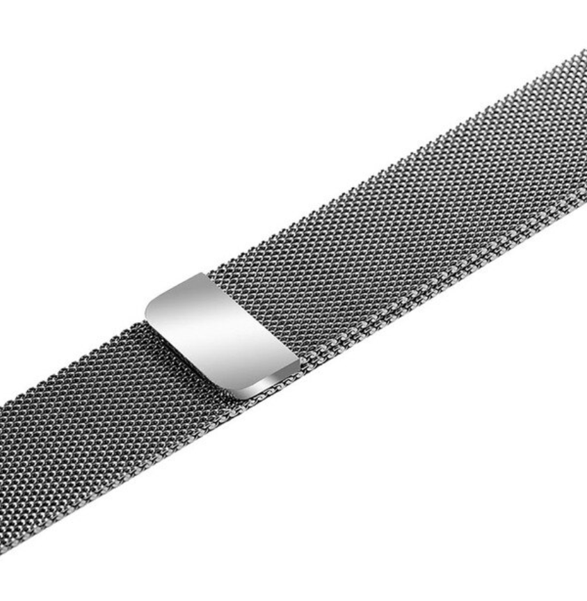 Stainless Steel Apple Watch Strap - (Silver)