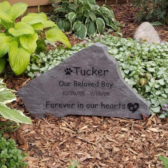 Flagstone Personalized Pet Memorial - 16