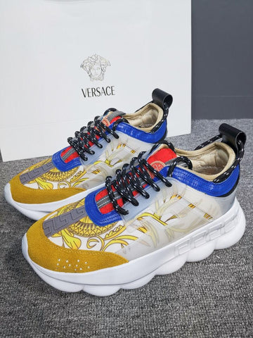 "Tênis Versace ""Chain Reaction"""