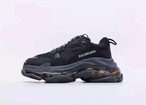 "Tênis Balenciaga ""Triple S"" Clear Sole"