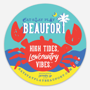 Beaufort, South Carolina CRAB : High Tides, Lowcountry Vibes™