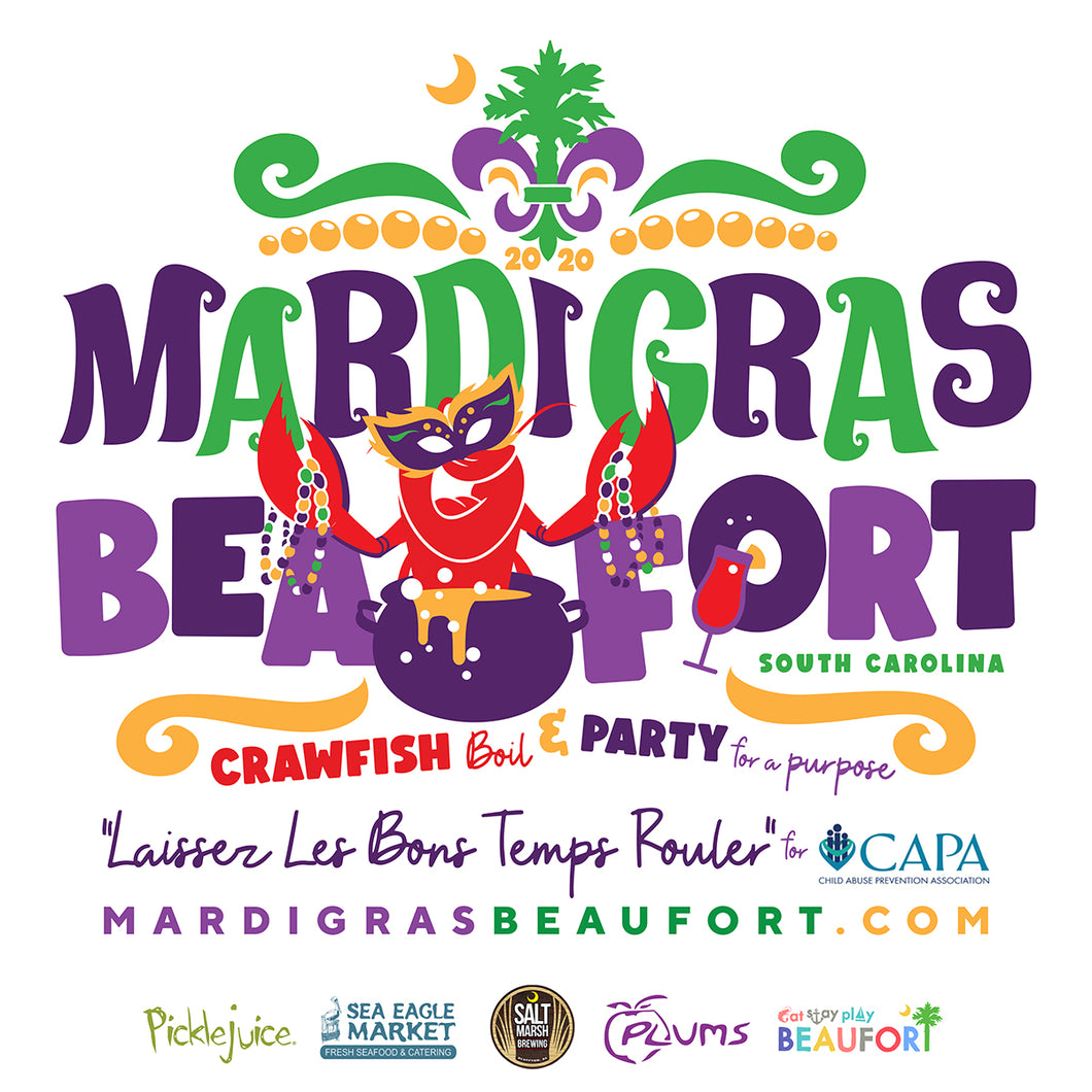 Mardi Gras Beaufort : All-You-Can-Eat Mudbugs + Marsh Brews!