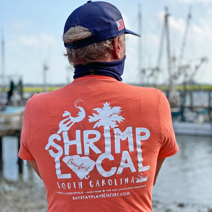 Shrimp Local Tee - 'Shrimp' Orange