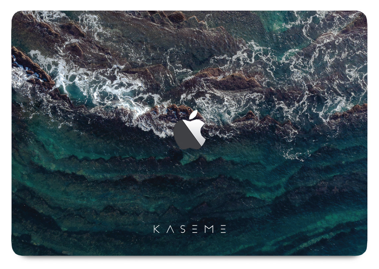 High Tide MacBook skin