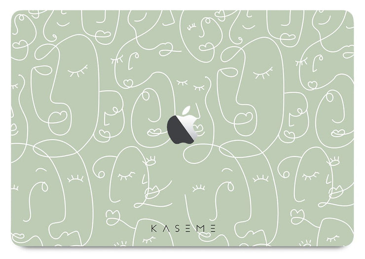 Sage MacBook skin