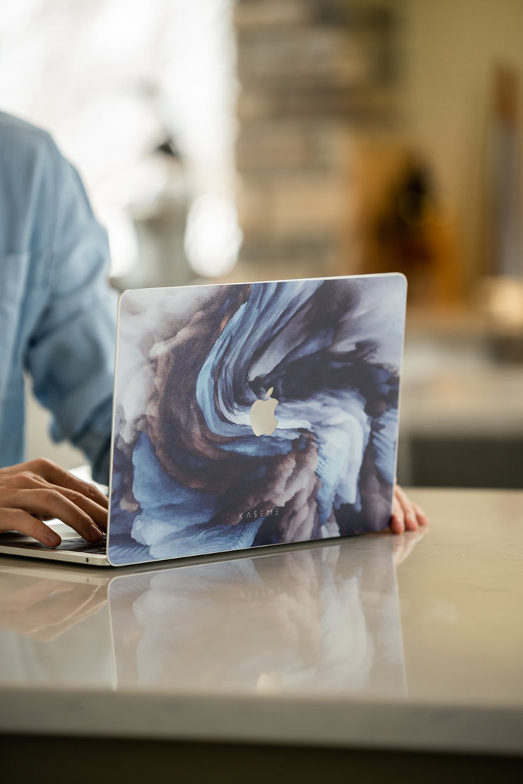 Burst MacBook skin