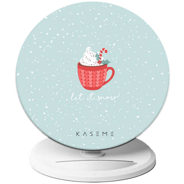 Hot Cocoa wireless charger