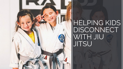 Helping Kids Disconnect with Jiu Jitsu