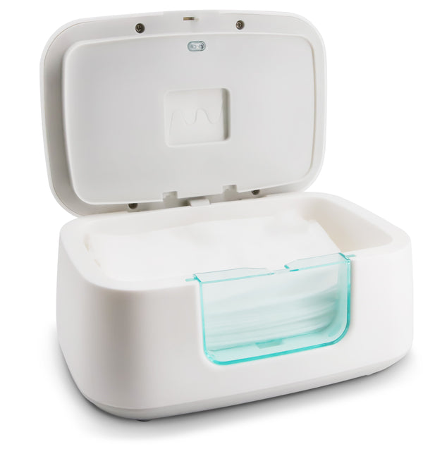 Baby Wipe Warmer & Dispenser with LED Changing Light and On/Off Switch