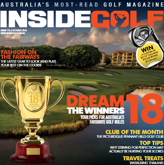 Inside Golf Magazine October 2019