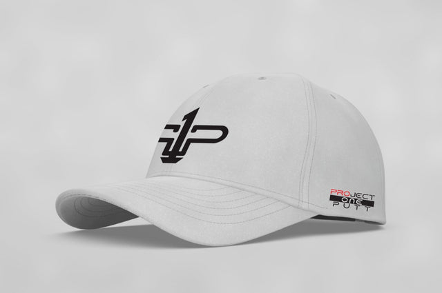 White Project One Putt Cap