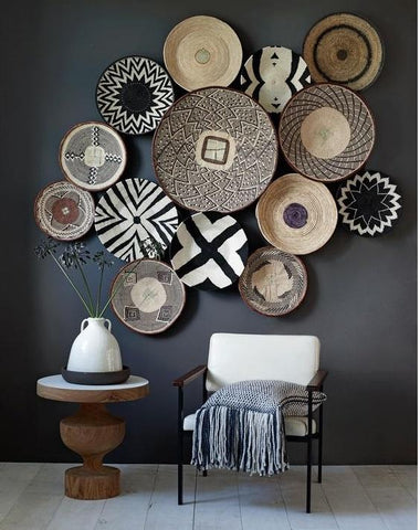 Tonga Baskets Wall Decor
