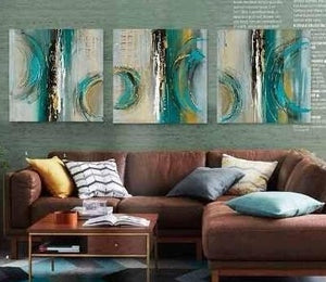 3 Piece Canvas Painting