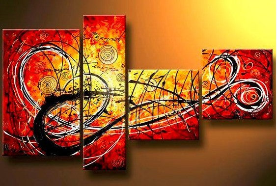 4 Piece Canvas Painting