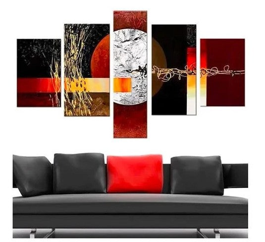 Acrylic Painting on Canvas Gallery Wrapped Canvas Art Acrylic Painting on Stretch Canvas Hand Painted Modern Artwork