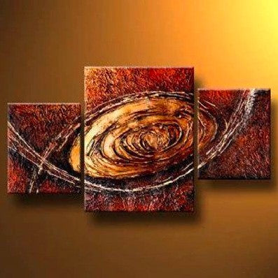 3 Piece Painting, Canvas Painting for Bedroom, Acrylic Painting on Canvas, 3 Piece Wall Art